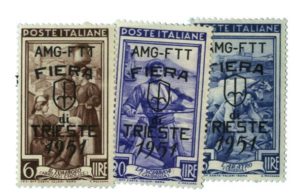 1951 Italy - Trieste