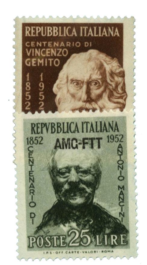 1952 Italy - Trieste