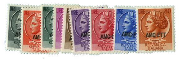 1953-54 Italy - Trieste