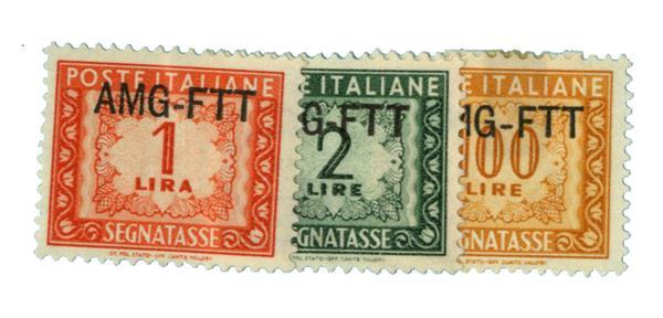 1953 Italy - Trieste