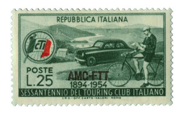 1954 Italy - Trieste