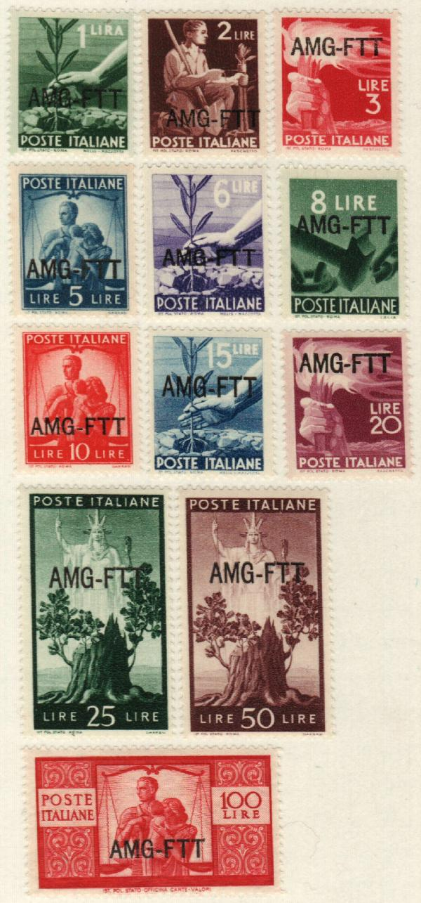 1949-50 Italy - Trieste