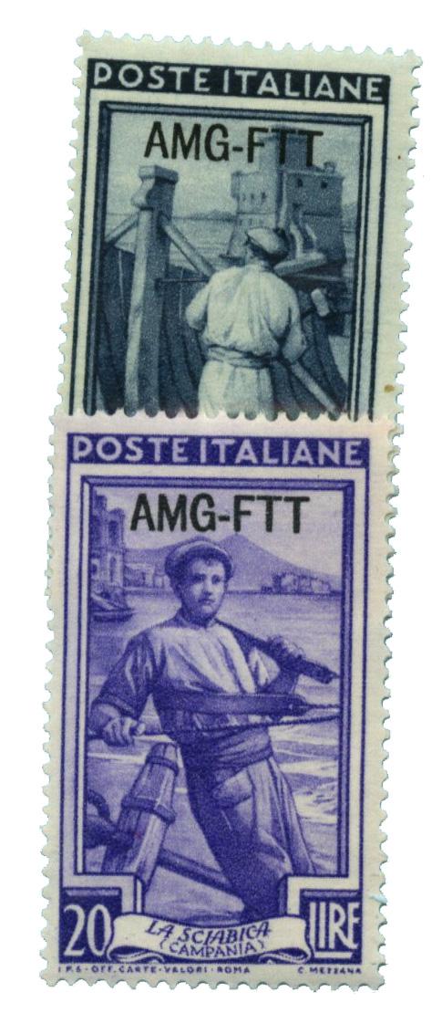 1950 Italy - Trieste