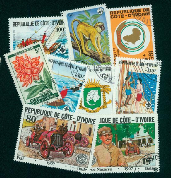 Ivory Coast, 25v