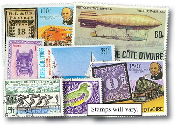Ivory Coast, set of 50