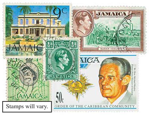 Jamaica, 25v
