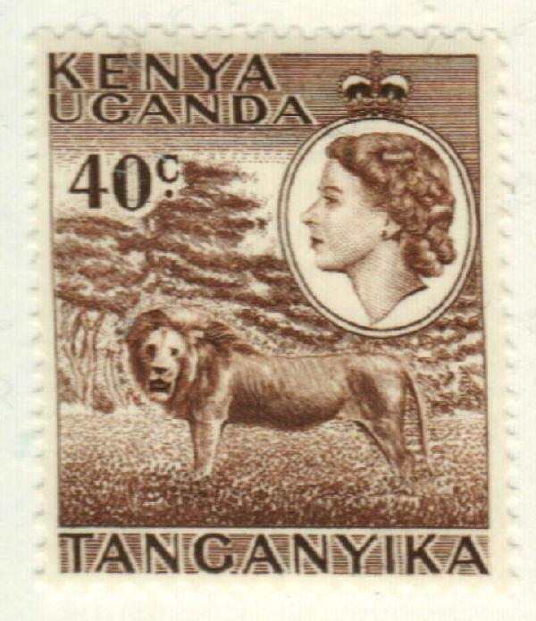 1958 Kenya, Uganda, & Tanzania