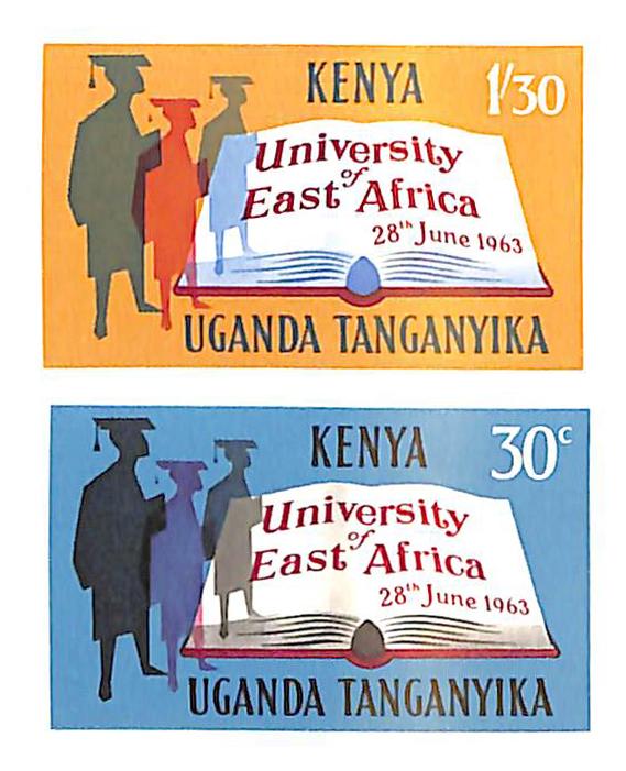 1963 Kenya, Uganda, & Tanzania