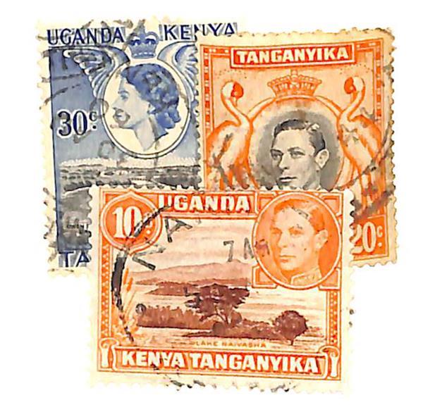 1938-54 Kenya, Uganda, & Tanzania