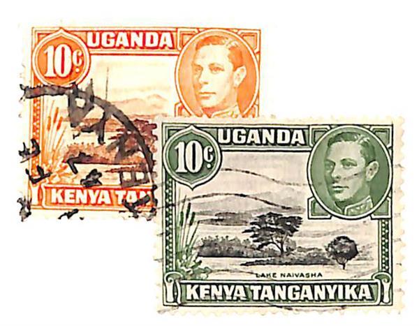 1941-49 Kenya, Uganda, & Tanzania
