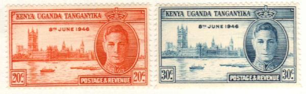 1946 Kenya, Uganda, & Tanzania