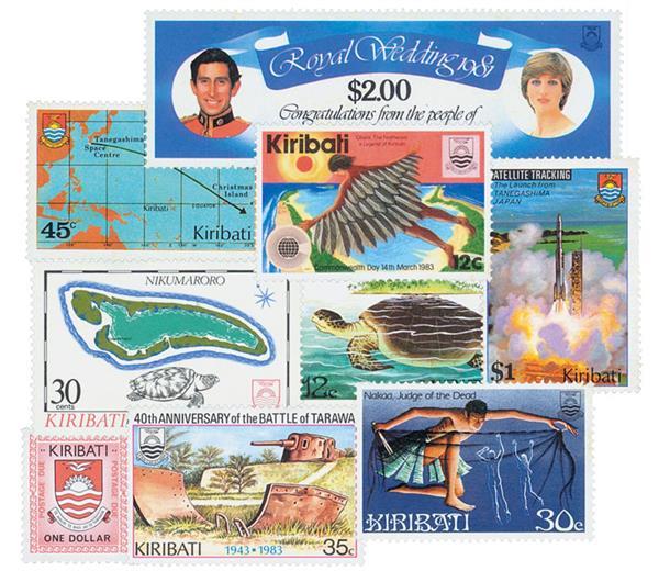 Kiribati, 50v Mint
