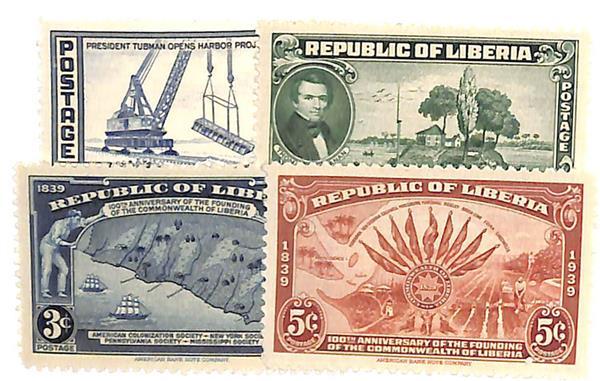 1940-47 Liberia