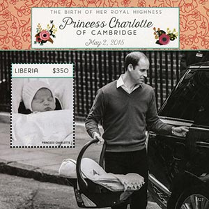 2015 $350 Princess Charlotte