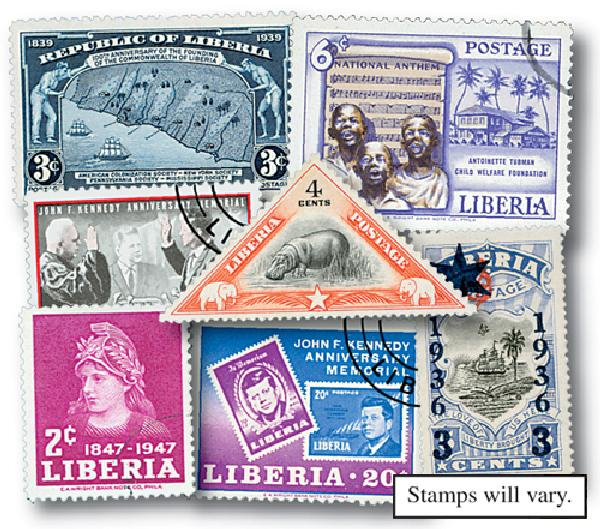 Liberia, set of 200
