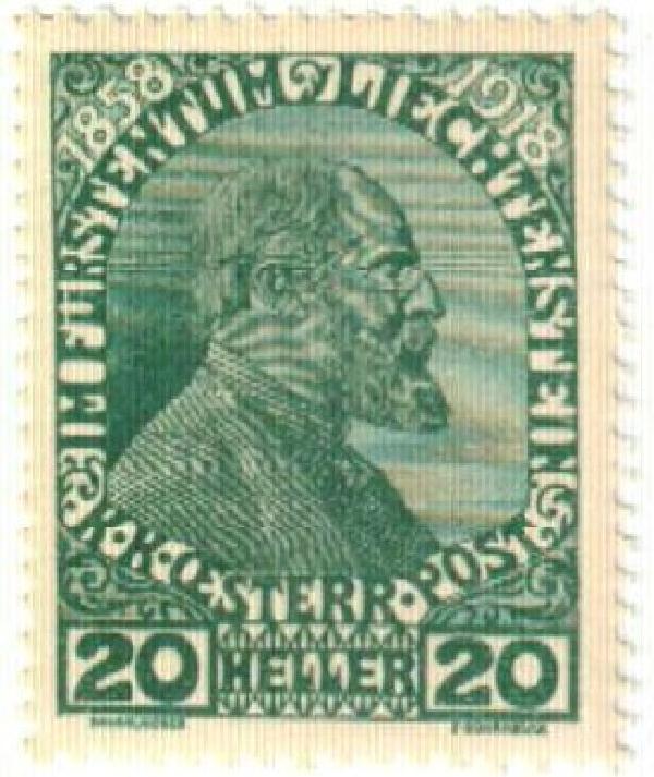 1918 Liechtenstein