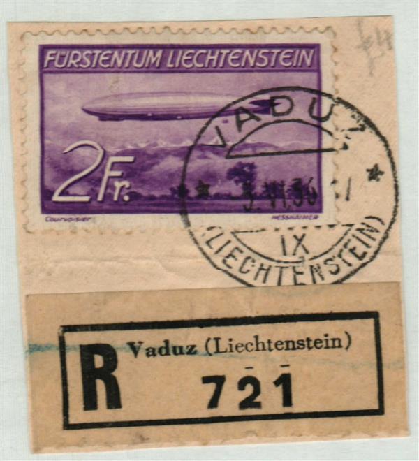 1936 Liechtenstein