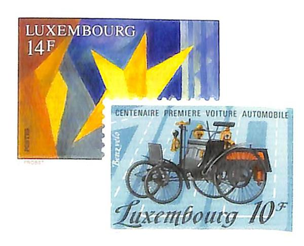 1985-92 Luxembourg