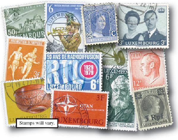 Luxembourg, set of 50