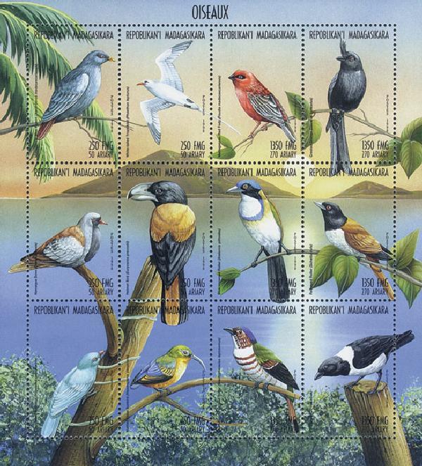 1999 Malagasy Birds, 12V