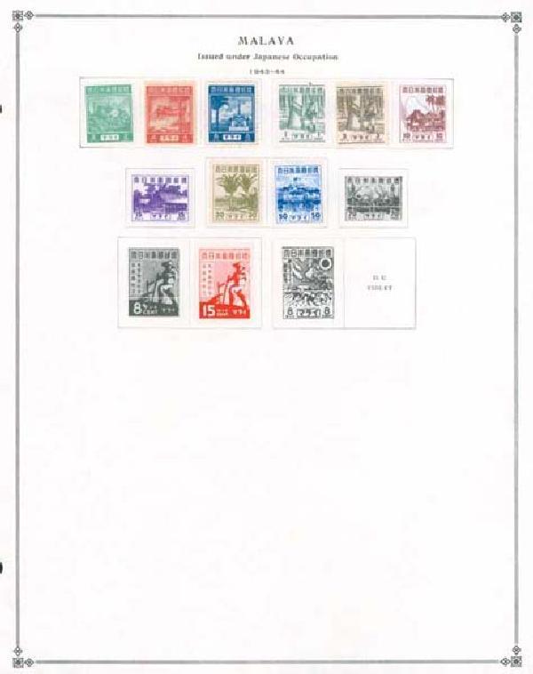 1901-1963 Malaya(Federation of)