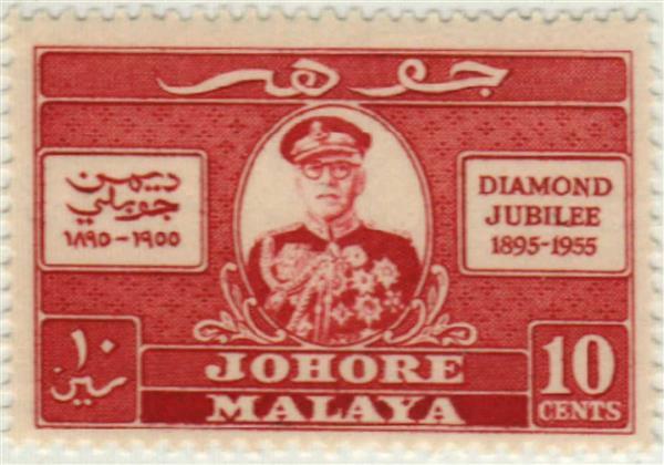 1955 Malaya Johore
