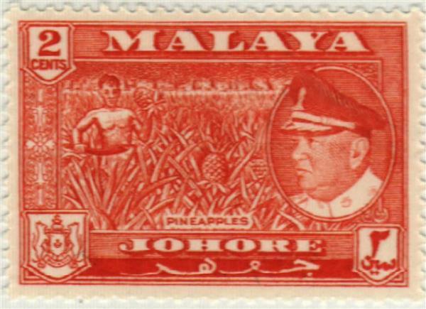1960 Malaya Johore
