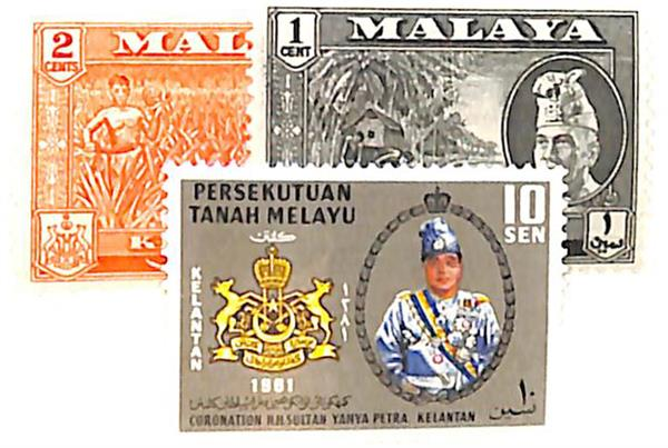 1957-61 Malaya Kelantan