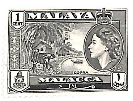 1957 Malaya Malacca