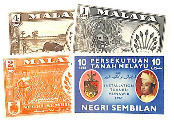 1957-61 Malaya Negri Sembilan