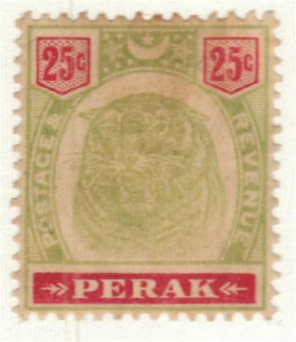 1896 Malaya Perak