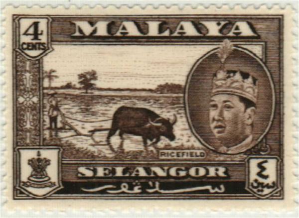 1962 Malaya Selangor