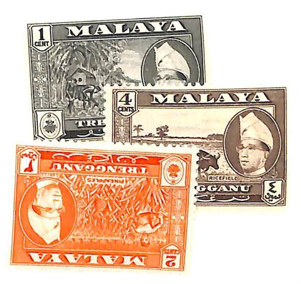 1957 Malaya Trengganu