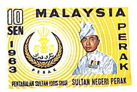1963 Malaysia Perak
