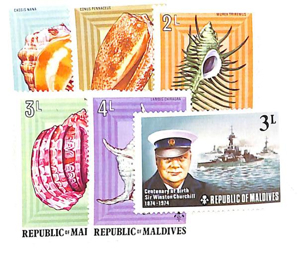 1974-75 Maldive Islands