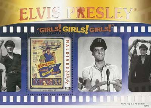 2010 Maldive Elvis Girls Girls Girls s/s