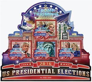 2016 US Pres Election-Trump Triumphs 4v