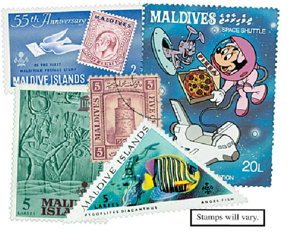 Maldive Islands, set of 150