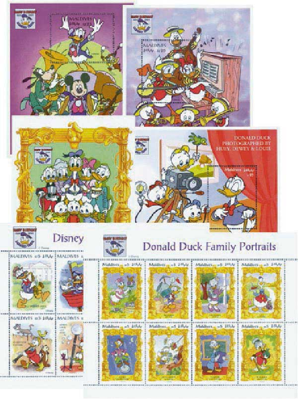 Maldives 1995 Donalds Family Portraits