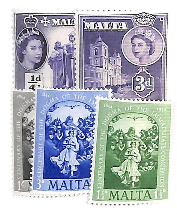 1954-56 Malta