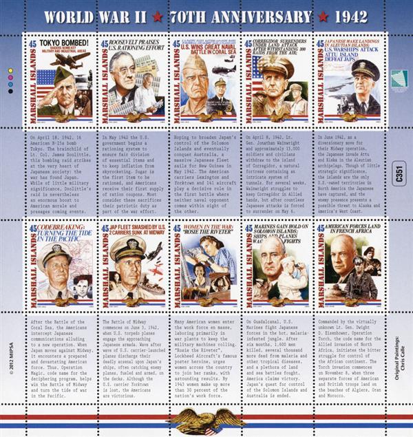 2012 World War II 70th Anniversary