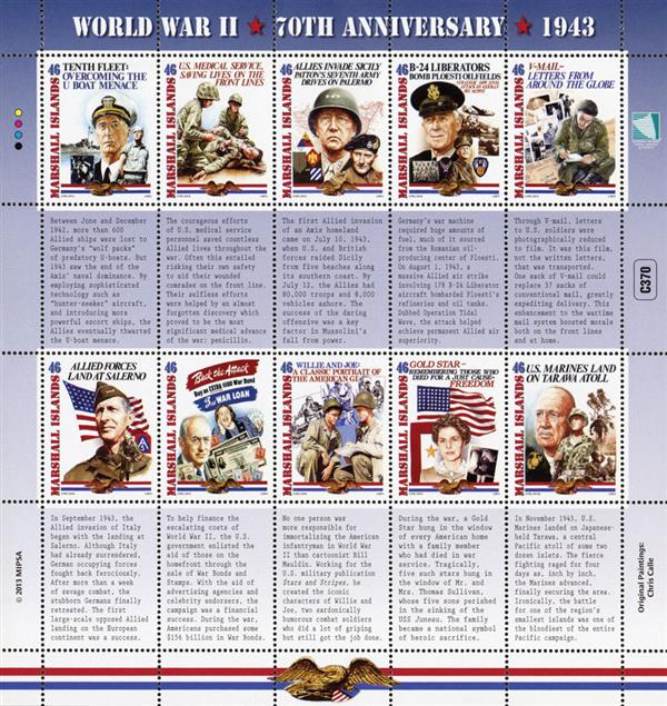 2013 World War II 70th Anniversary