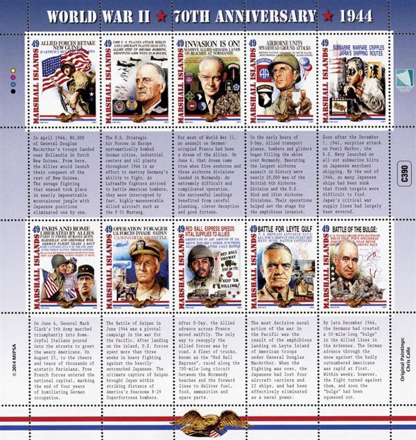 2014 World War II 70th Anniversary