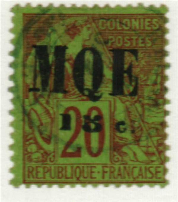 1887 Martinique
