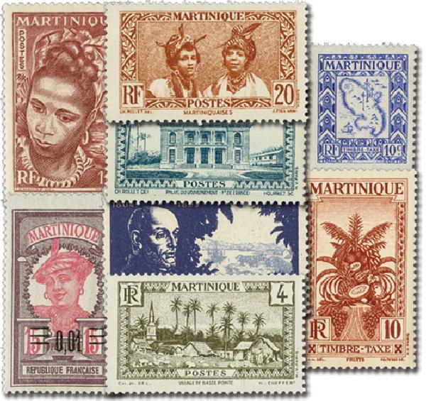 Martinique, 25v