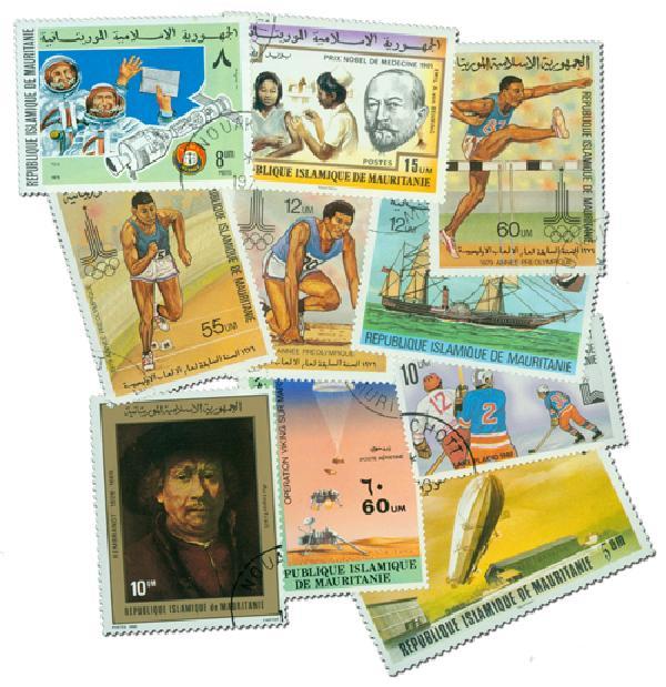 50 Mauritania Stamps