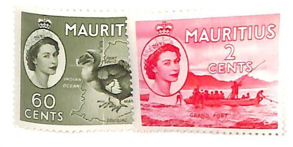 1954 Mauritius