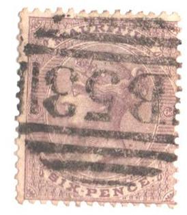 1864 Mauritius