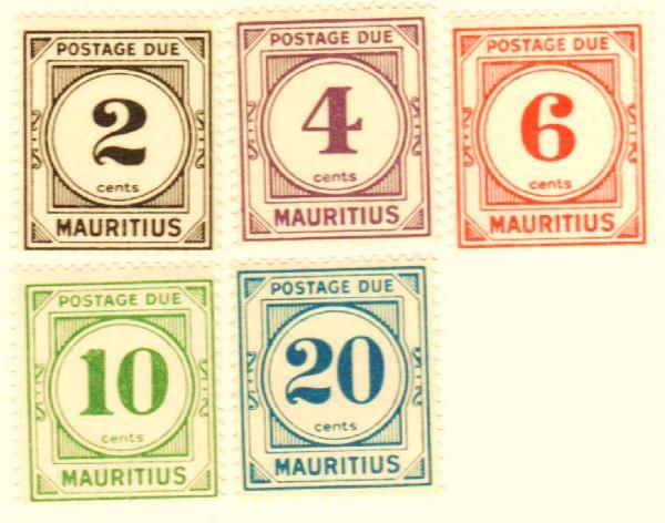1933-54 Mauritius