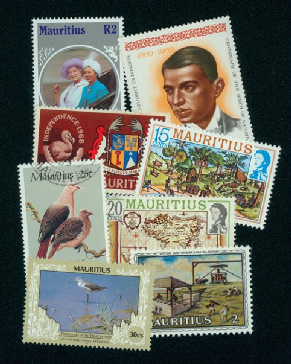 Mauritius, 50 stamps